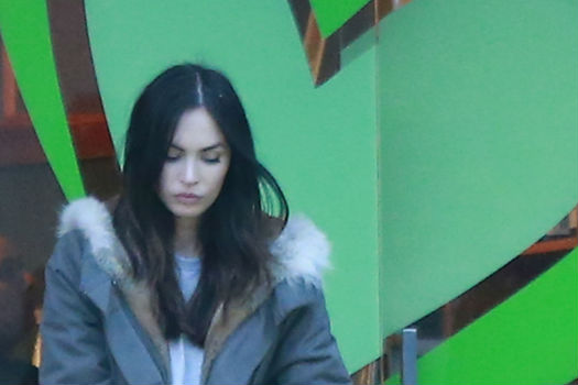 El paseo familiar de Megan Fox