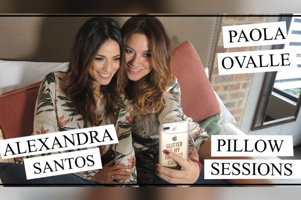 Alexandra Santos se confiesa en Pillow Sessions